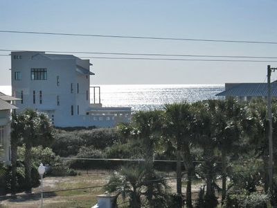 Seagrove Beach house rental - Partial Gulf View