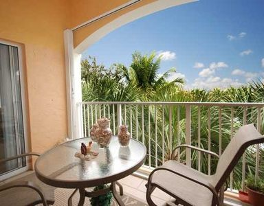 East coast view from the lanai- Palm Beach County, Florida condo rental