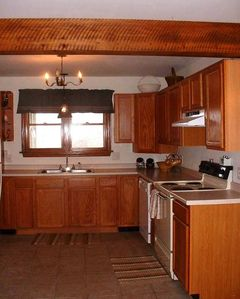 Bedford house rental - fully equipped kitchen