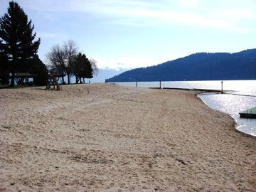 Views from around Sandpoint: City Beach (only 3 blocks from the Condo)