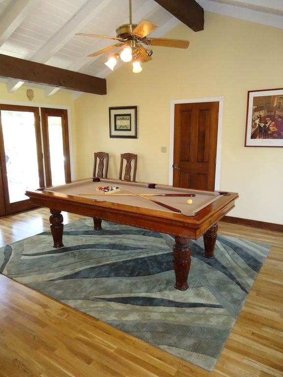 Pool Table that doubles as a 10 person formal dining table