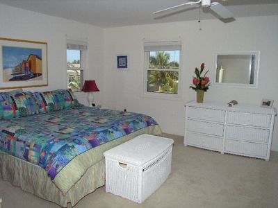 Master Bedroom on 3rd floor with views of Tampa Bay