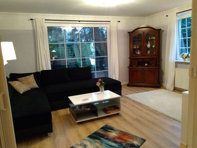 Apartment in Hamburg, ground floor with garden, 80 sqm for 6 persons, dogs welcome