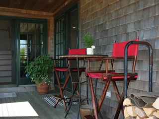 Surfside Nantucket house photo - Side Farmer's Porch featuring music from the Bose Sound System