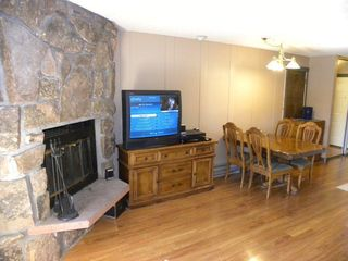 Granby condo photo - Comfortable Dining for 4 People and Plenty of Closet and Dresser Space