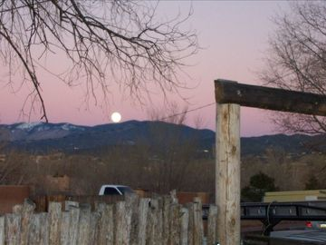 Rising Moon over Sangre de Cristo Mountains to Eas