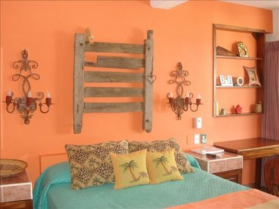 Traditional rustic Mexican decor