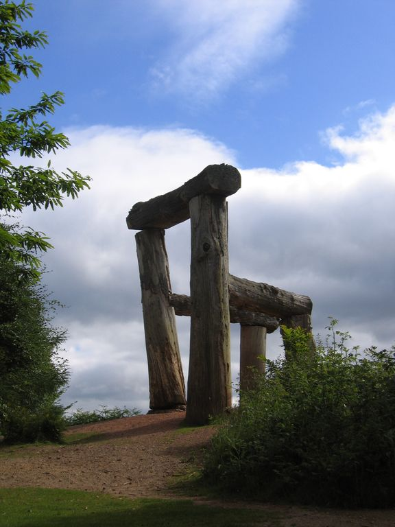 The Giant's Chair, Sculpture Trail, Forest of Dean