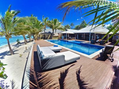 image for Luxurious Beachfront Villa with All-inclusive option