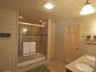 Lake Placid house photo - New Master Bathroom