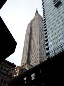 Midtown Manhattan apartment rental - View from the corner of our building