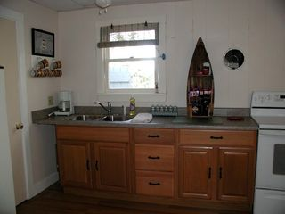 Lubec cottage photo - Kitchen