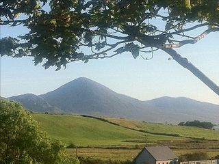 County Mayo cottage photo - View of Croak Patrick from Carrowholly Cottage
