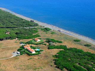 Orbetello villa photo - Villa Duna Grande aerial view