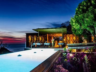 Villa Coulibri, stunning design statement overlooking Pitons and Caribbean