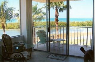 Fort Myers Beach condo photo - Beautiful Views from Living Room of Sanibel Island