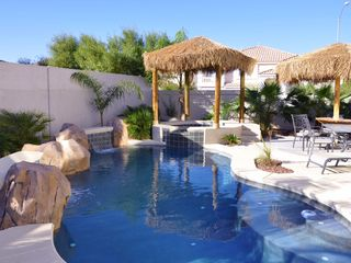 Las Vegas house photo - Relax in our Tropical Pool & Spa
