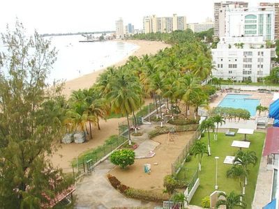 Balcony view of the Isla Verde area