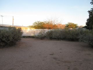 Apache Junction mobile home photo - Back Yard