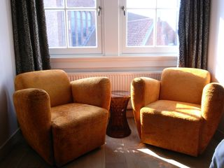 lounge chairs in bed room - East Amsterdam apartment vacation rental photo