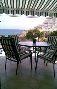 El Campello house rental - View from the Living Room