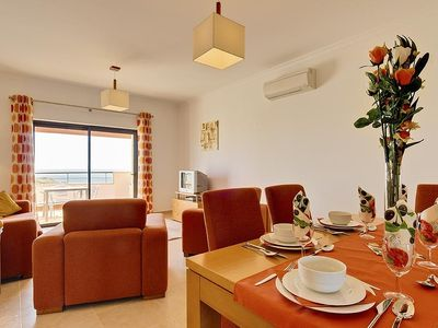 Porto de Mos apartment rental - 'Sea View Bliss' bright/ spacious + sea views