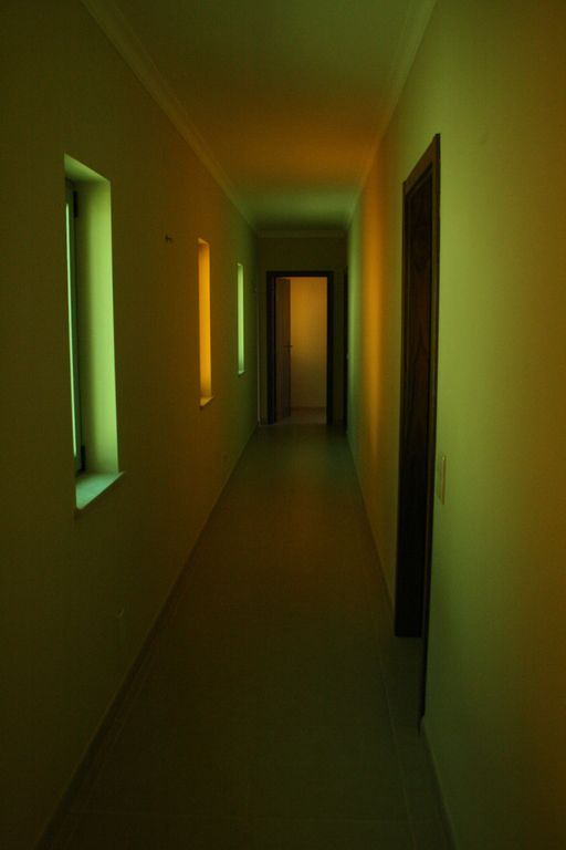 Corridor to sleeping area