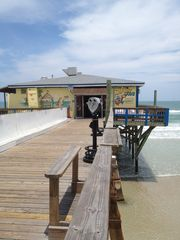 Daytona Beach house photo - Crabby Joe's - a bathing suit and flip flops type of place!