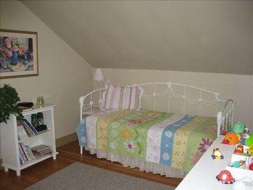 Charming Upstairs Bedroom. Twin with trundle