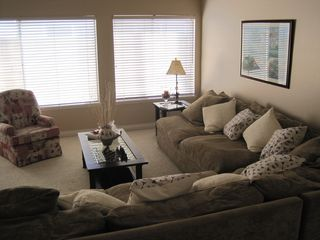 Huntington Beach house photo - Bright spacious living room.