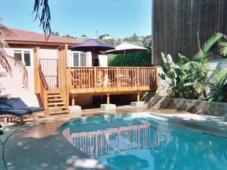 Old Town studio photo - PRIVATE POOL, DECK AND YARD NONE ARE SHARED