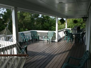 Front sun deck - Folly Beach house vacation rental photo