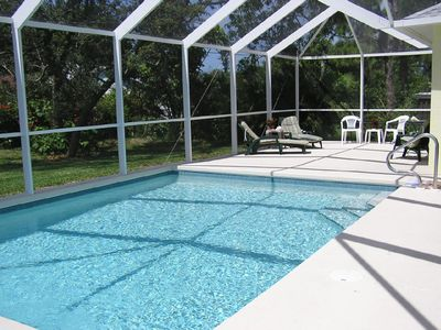 Relaxing Heated Saltwater Pool