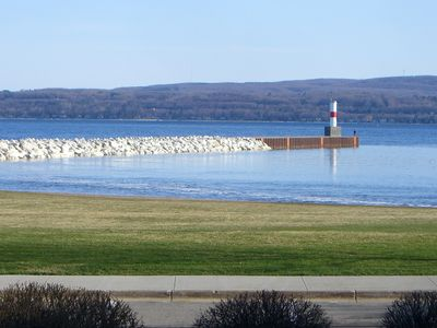 Petoskey house rental - View from Lvingroom and Deck
