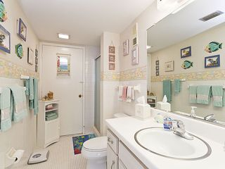Flagler Beach house photo - The second bathroom, with walk-in shower.