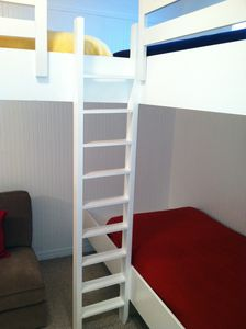 Bunk room (3 bunks) on 2nd floor of main house