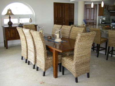 Comfortable Large Dining Table