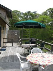 Chappaquiddick house photo - deck and grill