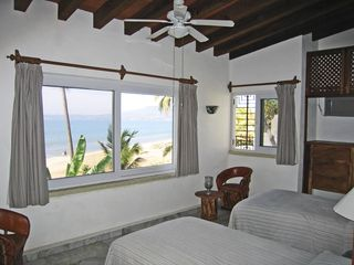 Bucerias villa photo - Twin Bedded room upstairs