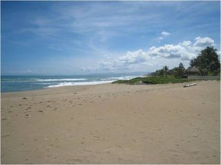 The beach at our front door - June 2012 - Cabarete villa vacation rental photo