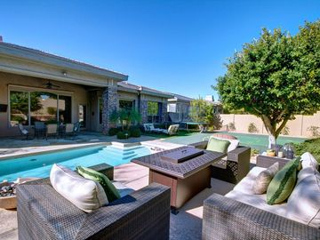 Other Scottsdale Properties house rental - Outdoor Sitting Area with Fireplace