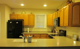Captains View Villas townhome photo - Clean as a whistle Kitchen. Fully Equiped.