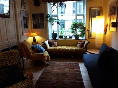 Beautiful furnished apartment near the Lakes in a quiet side street Østerbrogade