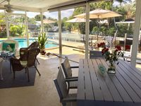 Waterfront/Ocean access pool home close to Downtown Boca and beaches