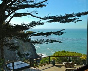 Mendocino house photo - Stunning view from Master bedroom