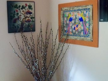 A Sample of the Abundant Artwork that Adorns the Chalet from Around the World