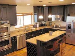 Bear Hollow Village townhome photo - Gourmet Kitchen with Stainless Steel Appliances. Fully Stocked