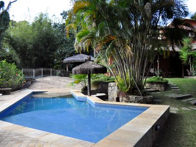 LUXURY HOME IN ILHABELA WITH 5 DORMS, swimming pool, bbq., Sauna, TERRACES