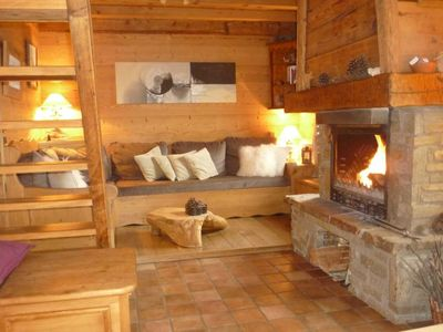 Chalet in the Alps, Sallanches, northern Alps