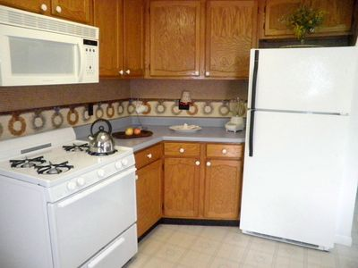 Kitchen has all you need,you'll feel athome while spend the best time in Vermont